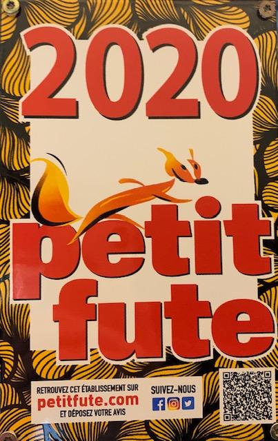 Reccomnadation Petit Futé 2019
